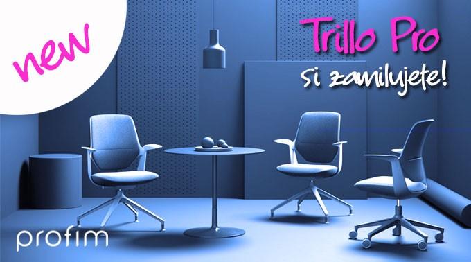 Revoluční kancelářská židle Trillo Pro